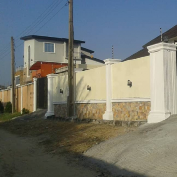 3 Bedroom Bungalow with Two Room Bq, Ogunfayor Royal Estate Beside Mayside Gardens, Awoyaya, Ibeju Lekki, Lagos, Detached Bungalow for Sale