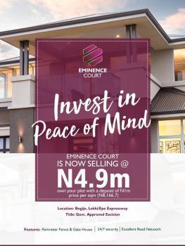 Landed Property in a Welcoming Community, Lekki Expressway, Lekki, Lagos, Residential Land for Sale