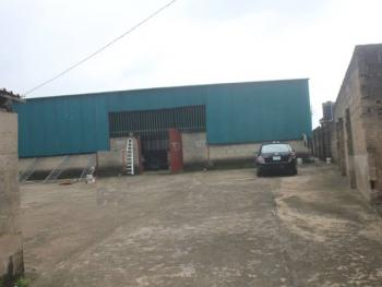 a Warehouse with a Bungalow Sitting on 1,300sqm Land, Magboro, Ogun, Warehouse for Sale
