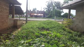 4 Plots of Land in a Strategic Location, Along Abak Road, Opposite Tonimas Filling Station. Ukana, Essien Udim, Akwa Ibom, Mixed-use Land for Sale