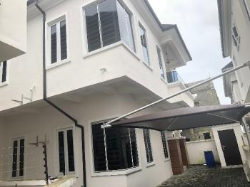 Spacious 4 Bedroom Semi Detached Duplex with 1 Room Bq, Chevy View Estate, Lekki, Lagos, Semi-detached Duplex for Rent