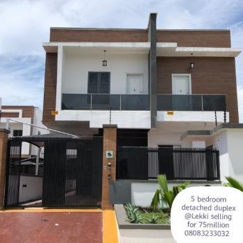 Executive 5 Bedroom Detached Duplex with a Room Boys-quarter, Oral Estate, Lekki Phase 1, Lekki, Lagos, Detached Duplex for Sale