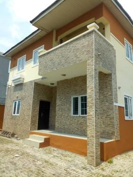 4 Bedroom with Bq, Alpha Beach Road, Igbo Efon, Lekki, Lagos, Detached Duplex for Rent