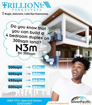 Trillion Park Estate, Closer to The Coastal Road and a Great Community Alatunshe, Bogije, Ibeju Lekki, Lagos, Residential Land for Sale