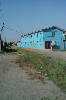 6 Nos of Room Self Contained Plus 2 Nos of 2 Bedroom on a Full Plot, Behind Forte Oil, Aradagun, Badagry, Lagos, Block of Flats for Sale