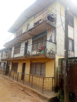 Strategic 18 Rooms Tenement Building Close to The Road, Near Aerodrome Estate Off Sango-ui Road, Samonda, Ibadan, Oyo, Block of Flats for Sale