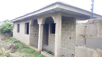Cheap Uncompleted 2 Bedroom Bungalow on a Plot of Land, Pagun Area, Bank Olodo Off Iwo Road, Ibadan, Oyo, Detached Bungalow for Sale