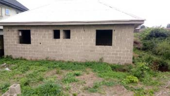Uncompleted 2 Bedroom Bungalow on a Plot of Land, Pagun Area, Bank Olodo Off Iwo Road, Ibadan, Oyo, Detached Bungalow for Sale