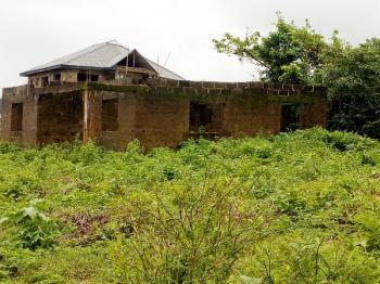 Uncompleted 2 Bedroom Bungalow on a Plot of Land, Near Ayegun Community School, Ayegun-oleyo Axis Off Akala Express, Ibadan, Oyo, Detached Bungalow for Sale