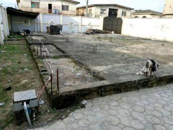 Half Plot of Land with German Floor, New Killington Area, Alagbagado, Abule Egba, Agege, Lagos, Residential Land for Sale