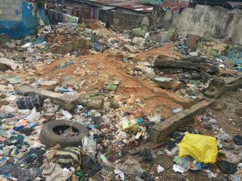 More Than Half Plot, Iwaya, Yaba, Lagos, Residential Land for Sale