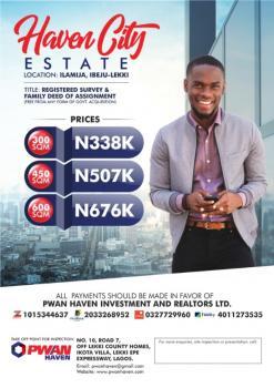 Haven City Estate Land, Ilamija, Alatise, Ibeju Lekki, Lagos, Mixed-use Land for Sale