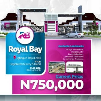 Royal Bay Estate Ibeju Lekki, 5mins Drive Frm Lacampagne Tropicana, Akodo Ise, Ibeju Lekki, Lagos, Mixed-use Land for Sale