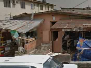 645sqm Land with an Old Bungalow, Agege, Lagos, Detached Bungalow for Sale