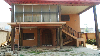 5 Bedroom Duplex with Guest Chalet, Along Gbogi Street, Akure, Akure, Ondo, Detached Duplex for Rent