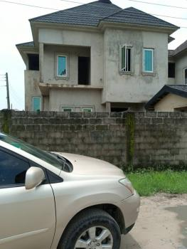 4 Bedroom Duplex with Bq, Uncompleted, Jubril Estate By Lagos Business School, Ajah, Lagos, Semi-detached Duplex for Sale