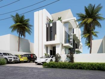 5 Bedroom Contemporary House with 1 Room Service Quarter, Pinnock Beach Estate, Osapa, Lekki, Lagos, Detached Duplex for Sale