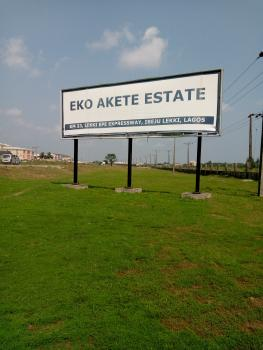 937 Sqm Land Inside Eko Akete Estate (awoyaya) for Sale, Eko Akete (hi-tech), Awoyaya, Lagos, Ibeju, Lagos, Residential Land for Sale