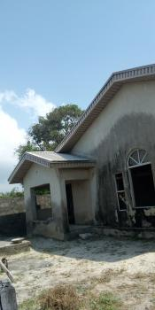 5 Bedroom Bungalow Sitting on 650sqm with Set Back and Fence, Rightly Beside Cooblag Estate Via Orchid Road., Lafiaji, Lekki, Lagos, Detached Bungalow for Sale