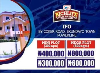 Plots & Acres of Land in Ifo, Richlife Estate & Gardens, By Coker Road, Ekundayo Town, Powerline, Ifo, Ogun, Residential Land for Sale