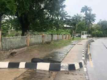 Fenced and Gated Prime Corner Plot Measuring 3,493 Square Meters, Alexander Road, Old Ikoyi, Ikoyi, Lagos, Mixed-use Land for Sale
