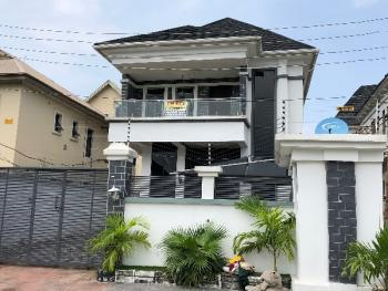 Renovated 5 Bedroom Duplex with a Room Bq, Chevy View Estate, Lekki, Lagos, Detached Duplex for Rent