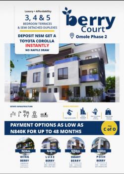 Berry Court, Ojodu, Lagos, Terraced Duplex for Sale