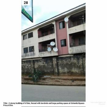 Two Storey Building, Ochendo By Pass, Umuahia, Abia, Block of Flats for Sale