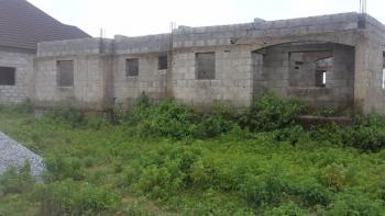 3 Bedrooms Carcass, Cajah Estate Orozo, Orozo, Abuja, Detached Bungalow for Sale