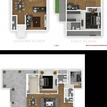 Luxury 2 Bedroom Apartments, Oceanbay Estate, Lafiaji, Lekki, Lagos, Mini Flat for Sale