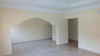 Well Top-notch 3 Bedroom Bungalow with 2 Room Boys Qouter Large Compound Space & Ac, Utako, Abuja, Detached Bungalow for Rent