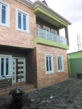 New Executive 5bedroon Fully Detached Duplex with 2sitting Room, Estate Pen Cenima Close to Ikeja, Agege, Lagos, Detached Duplex for Sale