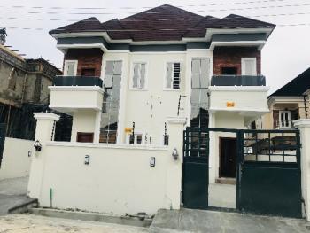Lovely 3 Bedroom Luxury Semi Detached Duplex with Boys Quarter, Chevron Drive, Chevy View Estate, Lekki, Lagos, Semi-detached Duplex for Sale