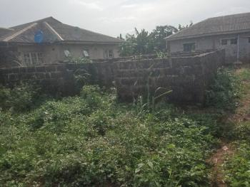 Foundation of 8 Nos of Mini Flat on a Full Plot of Land, Itele Ogun State Close to Ayobo, Ipaja, Lagos, Block of Flats for Sale