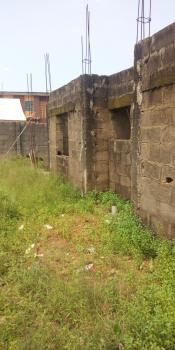 an Uncompleted Building on Full Plot of Land with an Uncompleted Duplex and a 2bedroom Behind It, Shagari Est, Ipaja, Lagos, House for Sale