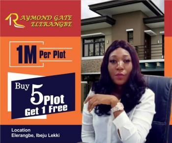 Raymond Gate Ibeju Lekki, 20mins Drive From Dangote Refinery, Eleranigbe, Ibeju Lekki, Lagos, Land for Sale