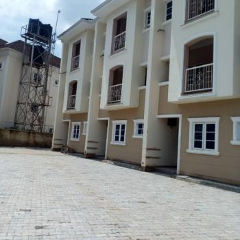 Brand New 4 Units of 3 Bedrooms Duplex, Wuye, Abuja, Terraced Duplex for Sale