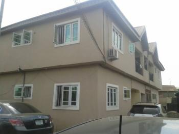 2 Bedroom Flat All Round Tiles with 3toilets & Baths and Wardrobe  (upper Flat) in a Block of 4 Flats, Bola Ahmed Tinubu Road/old Akute Road, Kay Farm Gate, Obawole Iju,, Fagba, Agege, Lagos, Flat for Rent