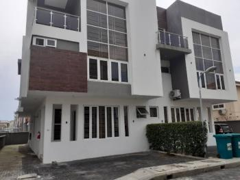4 Bedroom Luxury Terrace House with Bq, in a Gated Estate By Pinnock Road, Osapa, Lekki, Lagos, Terraced Duplex for Rent