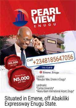 Certificate of Occupancy Land for Sale in Emene, Enugu, Enugu, Enugu, Mixed-use Land for Sale