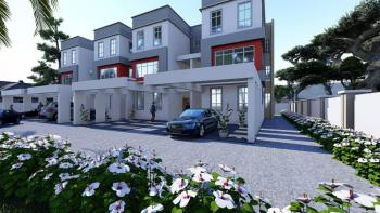 Coming Soon: 4units, Diplomatic Finished 4bedrooms Terrace Duplex with Servant Quarters, Off Olusegun Obasanjo Way, Wuye, Abuja, House for Sale