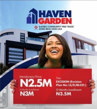Haven Garden Estate Land, Ilagbo Road, Eputu, Ibeju Lekki, Lagos, Mixed-use Land for Sale