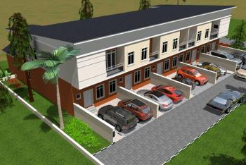 Executive 3 Bedrooms Terraced Duplex with Bq Each, Buenavista Estate on Orchid Hotel Road, By Chevron Toll Gate, Lafiaji, Lekki, Lagos, Terraced Duplex for Sale
