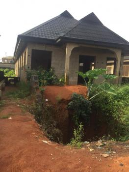 Uncompleted 4bedroom Bungalow with Massive Living Room, Adexson Bus Stop Lasu, Iba, Ojo, Lagos, Detached Bungalow for Sale