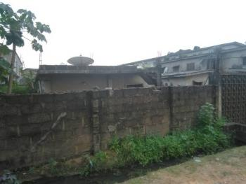 Fully Fenced and Gated Double-frontage Land Measuring Approximately 508 Square Meters with Defective Buildings, Walter Siffre Street / Olanrewaju Street, Ifako, Gbagada, Lagos, Residential Land for Sale