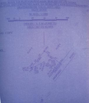 Dry Land with C of O (mainland Park Estate), Obafemi Owode, Ogun, Residential Land for Sale