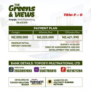 Land, Arapaja (akala Express), Challenge, Ibadan, Oyo, Residential Land for Sale