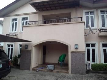 a Partially Furnished with Gen Set, 4 Bedroom Detached Duplex with 2 Sitting Room and 2 Rooms Bq, Ilubirin, Osborne Phase 2, Osborne, Ikoyi, Lagos, Detached Duplex for Rent