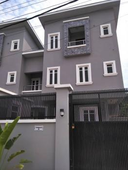4 Bedroom Terraced with Bq and Exclusive Compound in a Good Location, Off Toyin Street, Allen, Ikeja, Lagos, Semi-detached Duplex for Sale