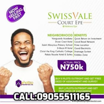 Swiss Vale Court, Epe, Lagos, Residential Land for Sale